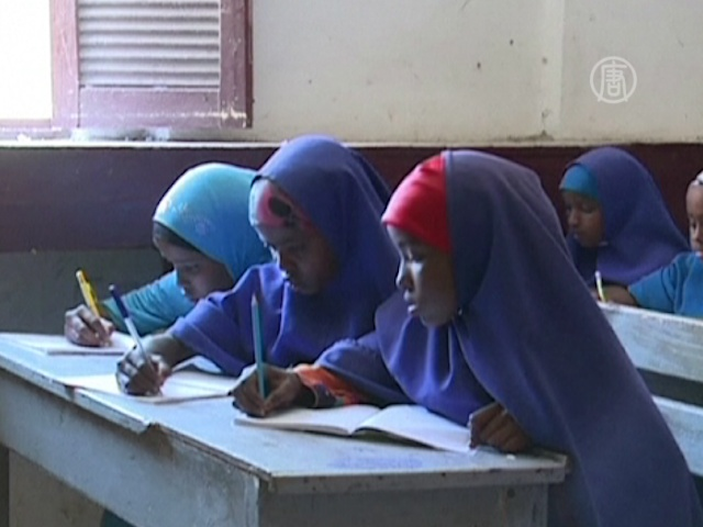В Сомали работает единственная бесплатная школа