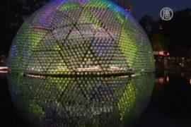 Огромную Луну построили в Гонконге