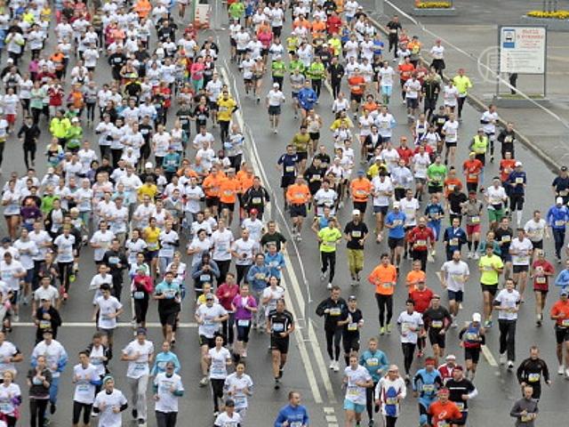 В Москве прошёл первый международный марафон