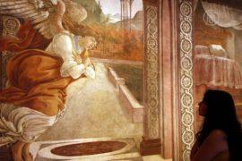 Фреска Боттичелли приехала в Израиль