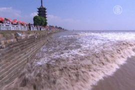 Уникальная приливная волна случилась в праздник