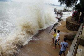 Тайфун «Усаги» в Китае: уже 25 жертв