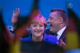 Блок Меркель победил на парламентских выборах