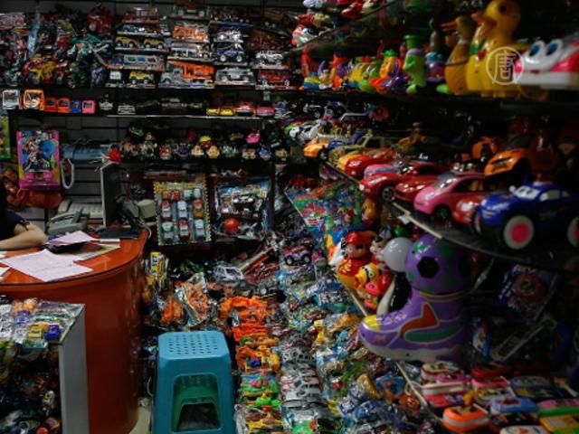 Киргизы боятся китайских игрушек