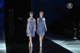 Игра «света и тени» от Армани завораживает Милан