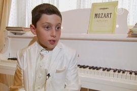 9-летний пианист выпустит свой альбом