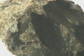 Фрагмент метеорита «Челябинск» подняли из озера