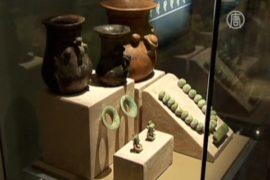 Сокровища Теотиуакана представят в Мехико