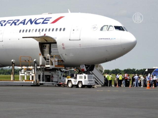 Сотрудники Air France перевозили тонну кокаина?