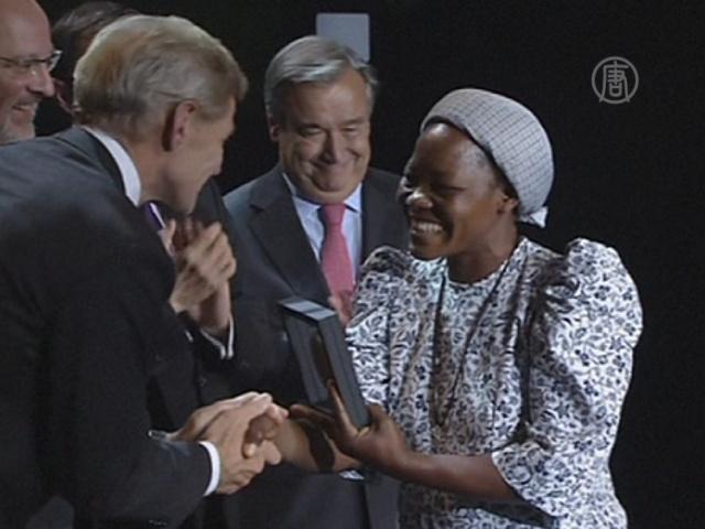Премию Нансена присудили монахине из Конго