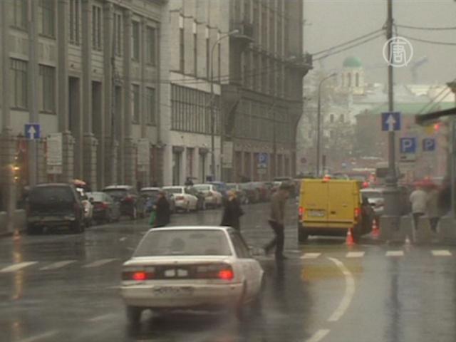 1 октября в Москве снова выпал снег