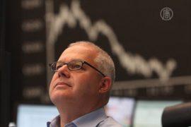 Фондовые рынки реагируют на кризис в США