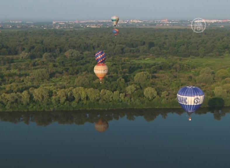 Фестиваль воздухоплавателей проходит в Рязани