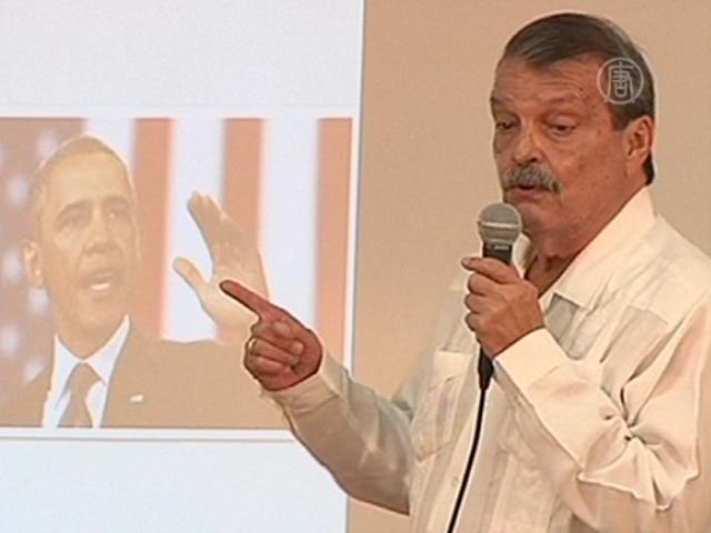 Куба добивается отмены санкций США