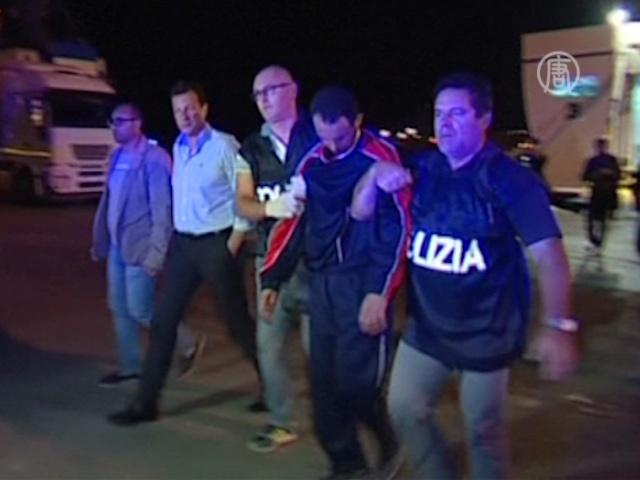 Трагедия у Лампедузы: арестован подозреваемый