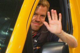 Гонщик Формулы-1 пересел на такси
