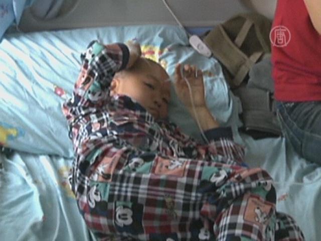30 детей в реанимации после нападения шершней