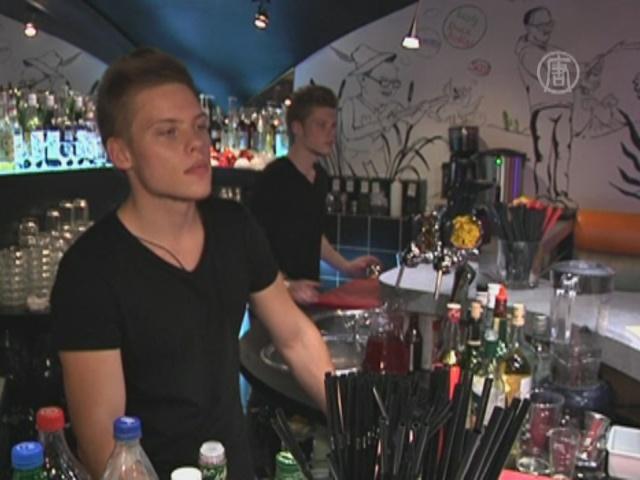 В московском ресторане работают только близнецы