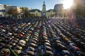Москва: Курбан-байрам прошёл под усиленной охраной