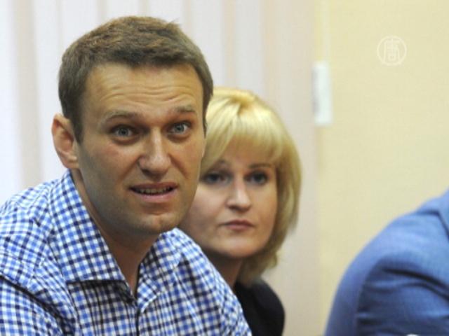 Алексею Навальному дали условный срок
