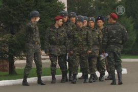 В Украине — последний призыв в армию