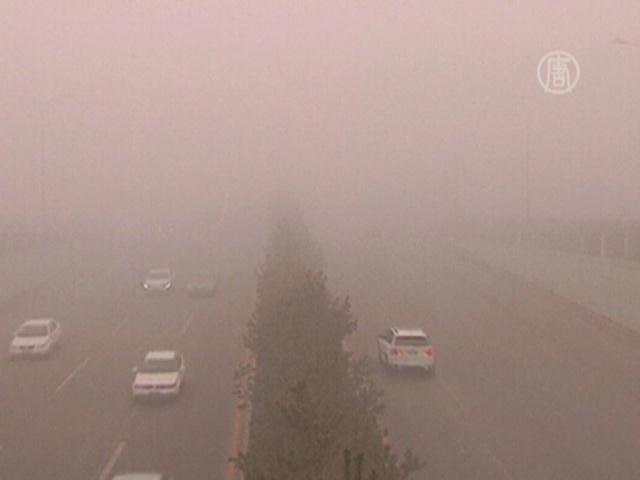Северо-восток Китая окутал ядовитый смог