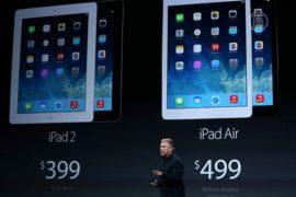 Apple представила новую линейку iPad