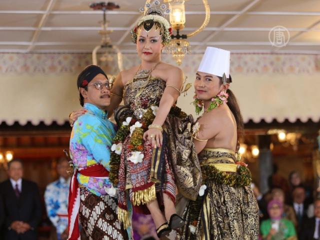 В Индонезии выдали замуж дочь султана