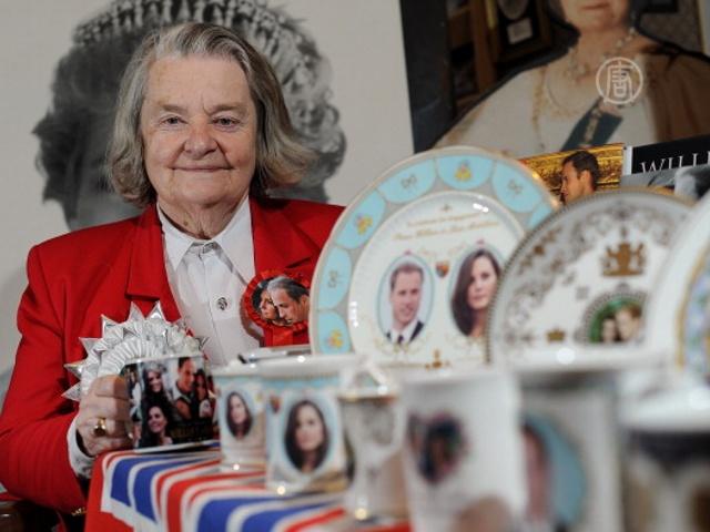 Британка 36 лет собирает «королевскую» коллекцию