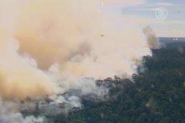 При тушении пожаров в Австралии разбился самолёт
