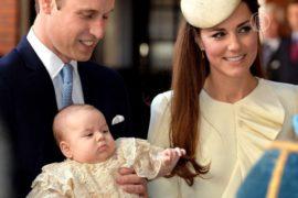 Принца Джорджа крестили в нарушение традиций