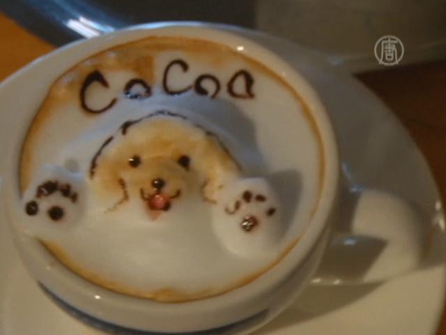 В Японии предлагают кофе с 3D-изображениями
