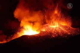 На Сицилии активизировался вулкан Этна