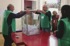 Выборы в Грузии: Саакашвили уходит