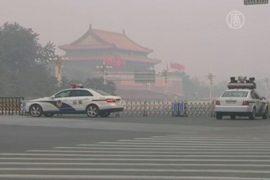 В Китае эвакуировали людей с площади Таньаньмэнь