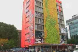 Уникальную галерею граффити скоро снесут