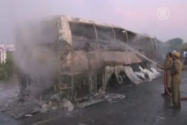 Крушение автобуса в Индии: более 40 жертв