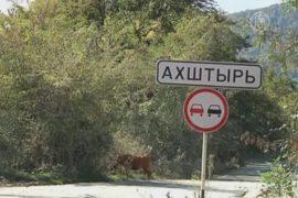 Село Ахштырь — в пыли от Олимпийской стройки