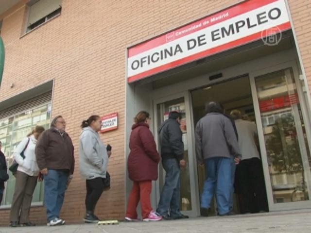 Безработных в Испании снова становится больше