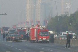 У партийных зданий в Китае прогремело 7 взрывов