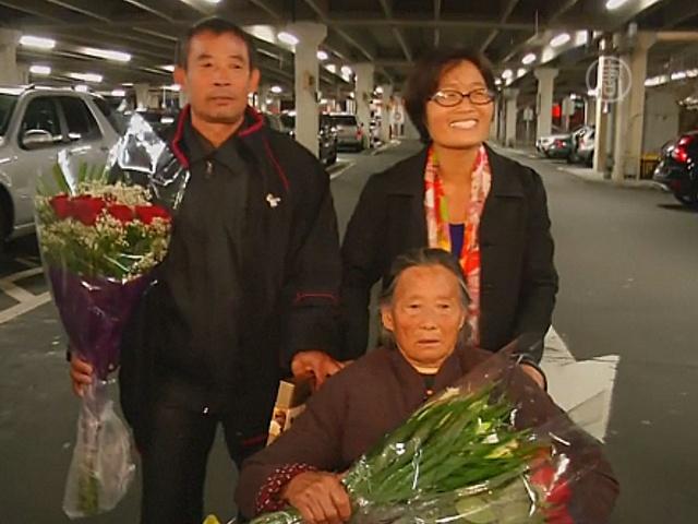 Мать и брата китайского диссидента выпустили в США