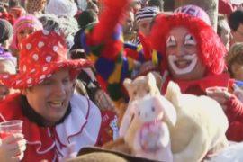 Кёльн погрузился в карнавальные празднества