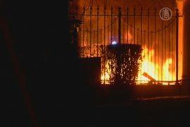 Посольство РФ в Варшаве атаковали националисты