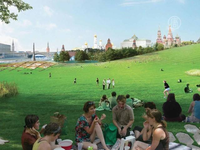 Парк возле Кремля создаст международная команда