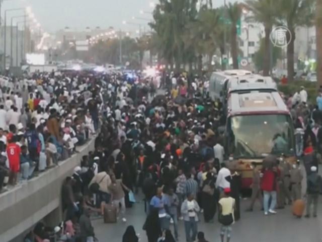 Нелегалов-мигрантов выдворяют из Саудовской Аравии