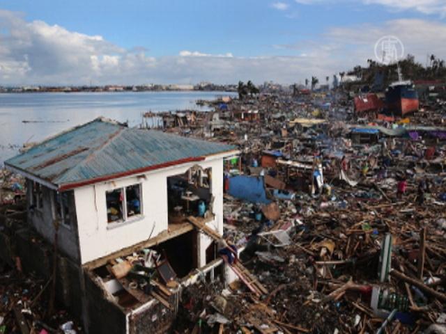 Число жертв на Филиппинах приближается к 4000