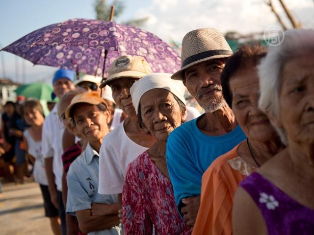 ООН: многие филиппинцы помощи пока не дождались