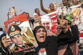 В Египте протесты в годовщину протестов