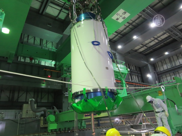 Фукусима: 22 топливных стержня уже переместили