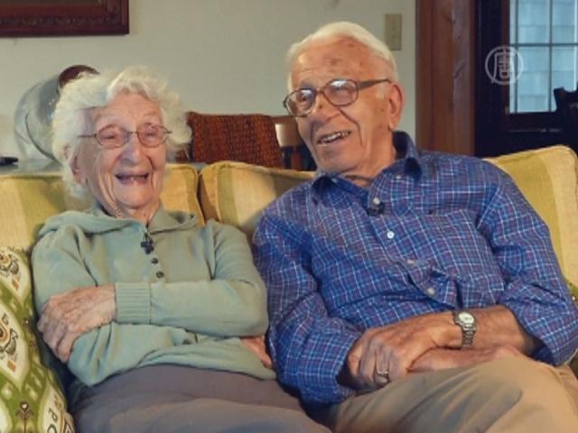 Пара из США живет в браке 81 год